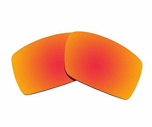 Sunnyblue2 Orange Polarisierte Ersatz Gläser für Oakley Sonnenbrille Gascan