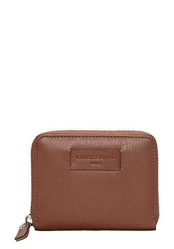 Liebeskind Berlin Damen Essential Conny Wallet Medium Geldbörse, Braun (Bourbon), 3x11x13 cm