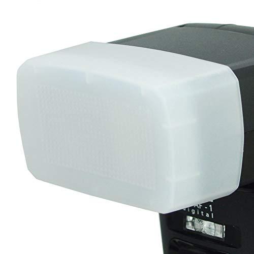Metz mecabounce Diffuser MBM-03 für Metz mecablitz 64 AF-1 | Farbe: weiß, Erzeugt weicheres und natürlicheres Licht, Ideal fuer Portraitfotografie