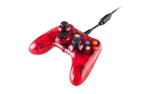 Mini Pro EX Wired Controller for Xbox 360 - Red by BD&A