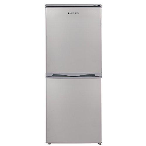 Lec T5039S 135L 123x50cm Freestanding Fridge Freezer - Silver