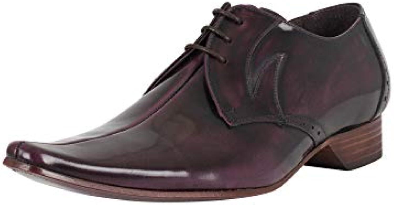 Jeffery West Hombre Zapatos Pino pulidos, Púrpura -