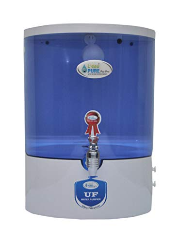 L'EAUPURE Dolphin Nano Filter 6-Liters UF Water Purifier (White)