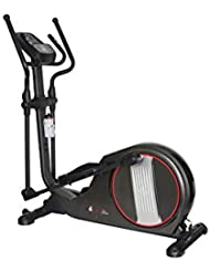 """Branx Fitness Magnetic 'X-Fit' Cross Trainer - 14.5 KG Flywheel - 19.5"""" Stride Length - HRC - Bluetooth - None Slip Adjustable Pedals"""
