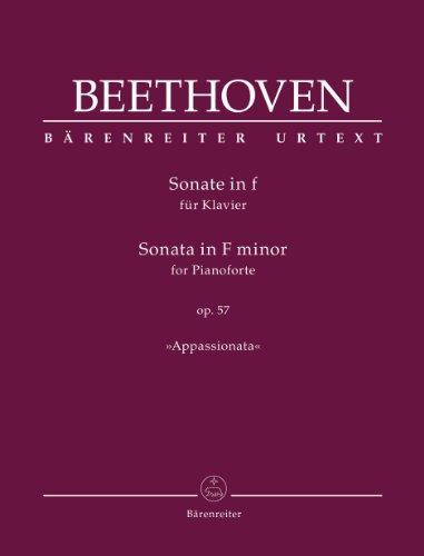 Sonate in f op. 57 für Klavier »Appassionata«