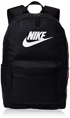 Nike Sports Backpack NK HERITAGE BKPK - 2.0, black/black/(white), MISC, BA5879