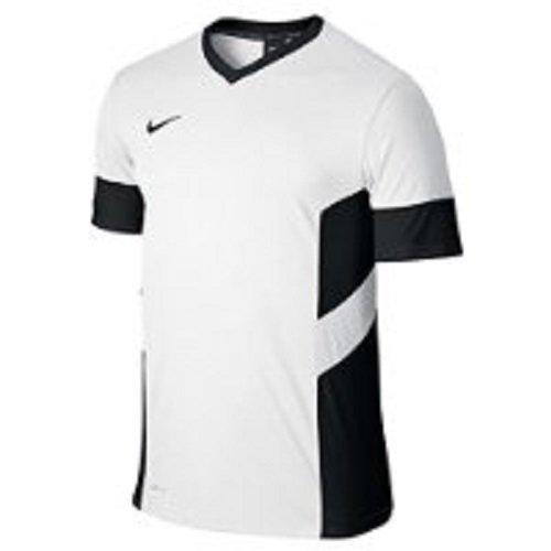 Nike Herren T-shirt Academy 14, white/black, L, - Torwart Trikot Kurzarm