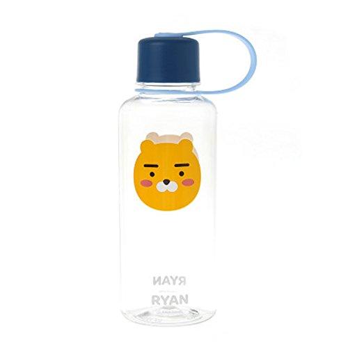 Kakao Friends - Easy Griff 16Oz BPA-frei Klar Wasserflasche 480ml (Ryan) Ryan (Kakao Freunden)