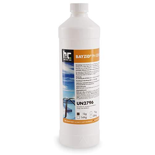 Höfer Chemie 6 x 1 kg pH Senker Minus flüssig ORIGINAL für einen optimalen pH-Wert und eine Gute Wasserqualität
