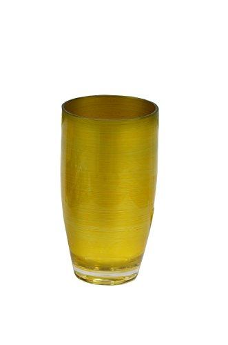 Waverly Avalon Serie Indoor Outdoor langlebig Kunststoff Essen und Trinken Serviergeschirr perfekt ganze Jahr (16,5Unze Gold Tumbler)