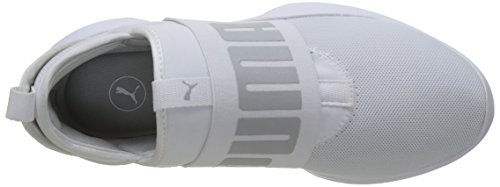 Puma Dare, Sneakers Basses Mixte Adulte Blanc (Puma White-gray Violet)