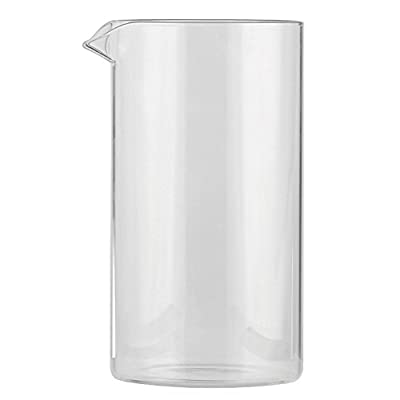 First4Spares Replacement Glass Beaker for Bodum 8 Cup Cafetiere / Coffee Press from Qualtex