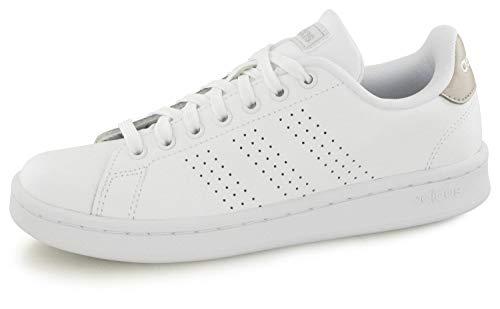 adidas Advantage, Scarpe da Fitness Donna, Bianco Ftwbla/Gridos 000, 42 EU