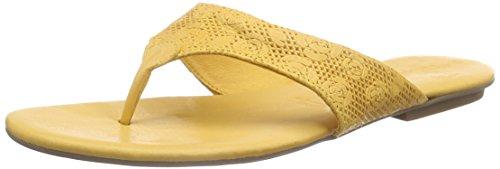 Tamaris 27114 Damen Zehentrenner Gold (SAFFRON 627)