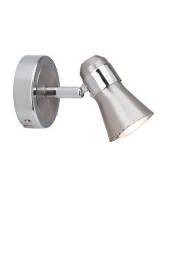 Brilliant G15410/77 Spot - Lámpara de pared (LED, acero y cromo, GU10,...