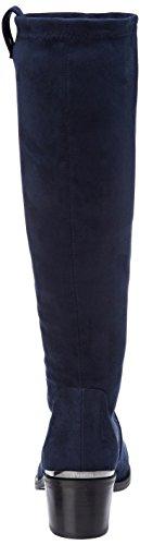 Jb Martin Damen Encre H17 Kurzschaft Stiefel Bleu (T Suede Stretch/Bloque Nuit)