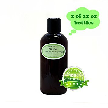 Australian Emu Oil by Dr. Adorable Triple Refined Organic 100% Pure 24 Oz