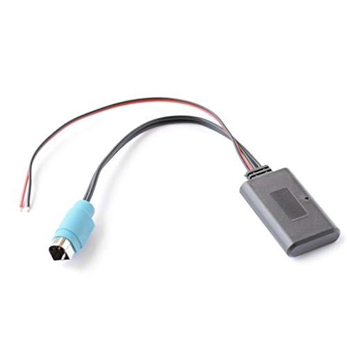 Sidougeri Pin Bluetooth Modul Wireless Auto Bluetooth Adapter Modul Wireless AUX Kabel Adapter