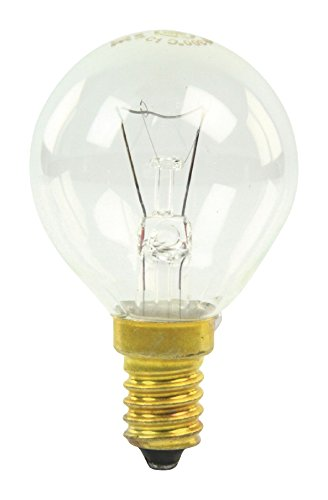 GE E14horno lámpara bombilla, 40W, 300C