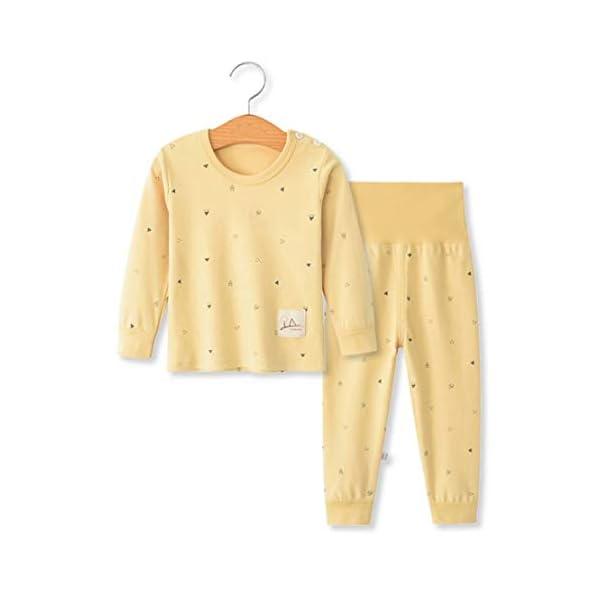 100% algodón Baby Boys Pijamas Set Ropa de Dormir de Manga Larga (6M-5 Años) 1