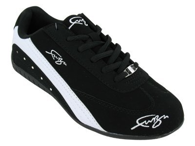 Herren Sport Leder-Optik Sneakers Velours Glitzer Metallic Runners Freizeit Schnürer Schuhe 134749 Olivgrün Velours 42 Flandell eLvQC