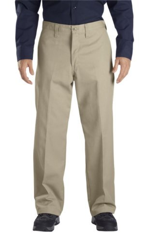 Dickies - - LP812 Männer Industrie-Flat Front Pant, 40W x 34L, Khaki Industrie-flat Front Pant