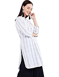 Max Women's Cotton Straight Kurta