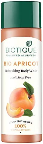 Biotique Bio Apricot Refreshing Body Wash, 190ml
