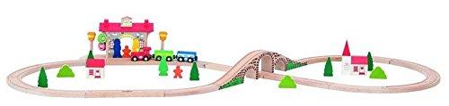 acht Eisenbahn Set mit Station und Sound ()