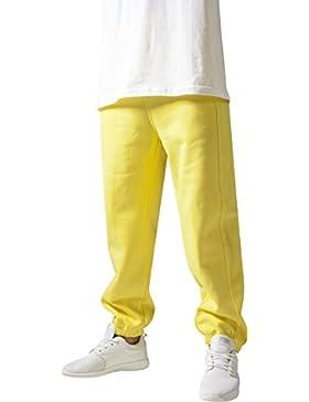 Urban Classics Herren Sporthose Sweatpants-Gelb ,L