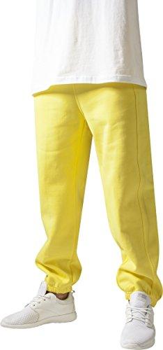 Urban Classics TB014B Herren Sporthose Sweatpants,Gelb,Medium