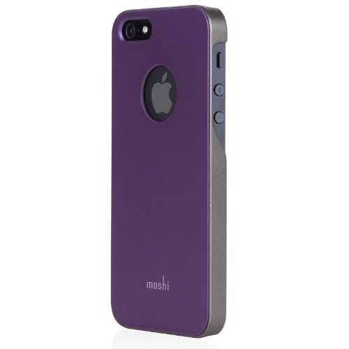 Moshi iGlaze Cover für Apple iPhone 5 lila - Phone 5 Moshi I