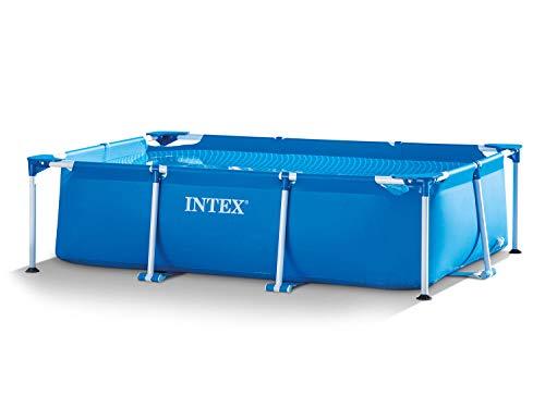 Intex 3in1 Set Gartenpool 260 x 160 x 65cm Rectangular Frame Pool mit Filterpumpe 28271