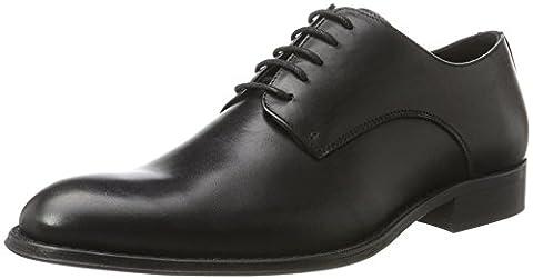 Bianco Elegant Dress Shoe Djf16, Derby homme - noir - noir, 44 EU