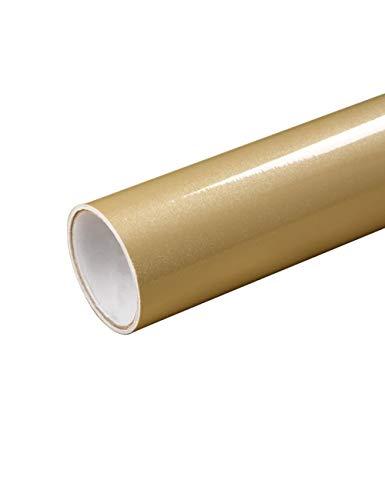 PLMOKN Rollen Sie glänzende wasserdichte PVC-Kabinett-Tapete-selbstklebendes Kontakt-Papier-Kabinett für Tür-Möbel-Aufkleber-Badezimmer-Küche