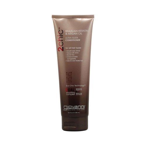 Ultra Conditioning Shampoo (Giovanni 2chic Ultra-Sleek Conditioner mit brasilianischem Keratin und Arganöl - 227 ml [Badezimmer, Shampoo & Conditioning])