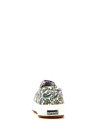 Superga 2750 Fantasy Cotj S001W90, Chaussures mixte enfant ARABESQUEWH-YLW-AZUL