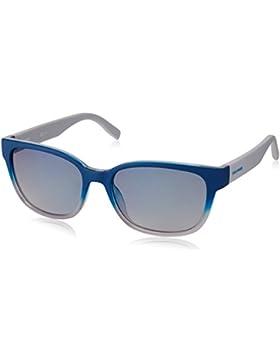 Boss Orange Unisex-Erwachsene Sonnenbrille 0251/S Dk, Schwarz (Bluee Sww), 55