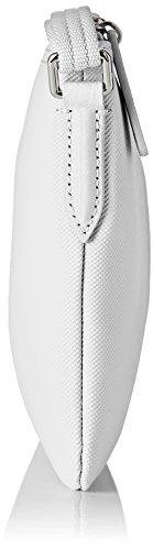 Lacoste Damen Nf1887po Umhängetaschen, 17,5 X 1 X 27 Cm Bianco Brillante (bianco Brillante)