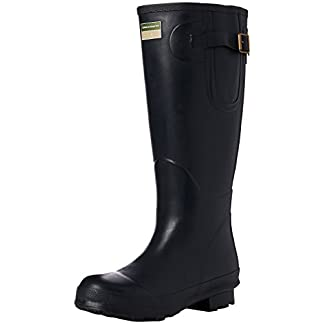 Town & Country TFW2539 The Bosworth Wellington Boots Navy UK Size 3 12