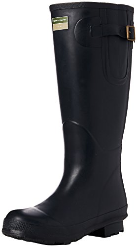 Town & Country TFW2539 The Bosworth Wellington Boots Navy UK Size 3 1
