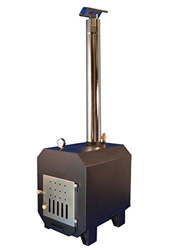 TRONGAARD Poolofen/Poolheizung / Ofen für Badetonnen/Badefässer 40KW - mit Holz befeuert