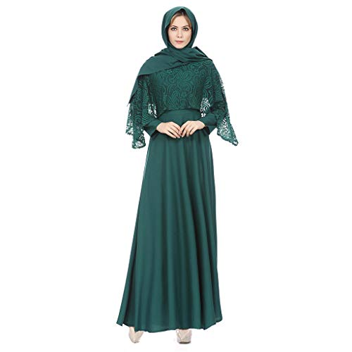 e31aafb31dc Women Vintage Dress, Timoon Ladies Lace Long Maxi Dresses National Dubai Moroccan  Kaftan Caftan Dress