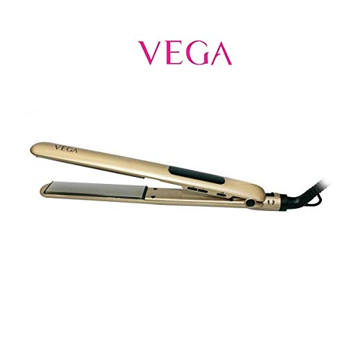 Vega VHSH-22 Titanium Flat Hair Straightener (color may vary)