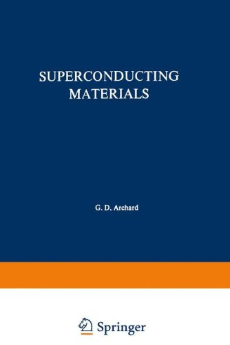Superconducting Materials (The International Cryogenics Monograph Series)