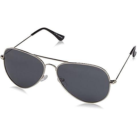 OceanGlasses - Banila aviator - gafas de sol metálicas - Montura : Plateada - Lentes : Espejo (18110.6)