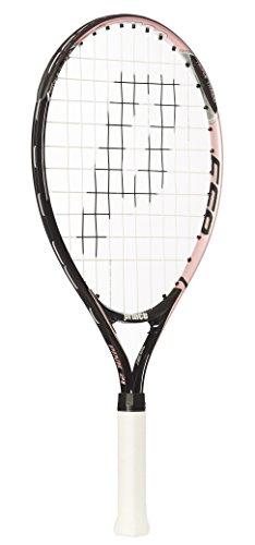 Prince Pink 21 - Raqueta de tenis para niños, color rosa / negro, talla 0