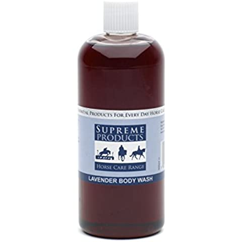 SUPREME PRODUCTS SUPREME CAVALLI HORSE LAVANDA BODY WASH EQUINE & MUSCOLI DELLE (Lavanda Body Wash)