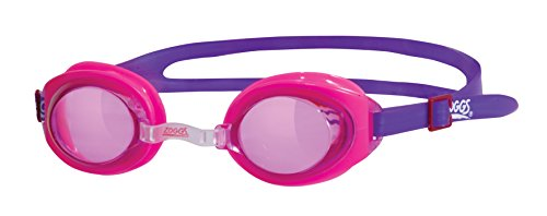 Zoggs Little Ripper Schwimmbrille für Kinder, Kinder, Ripper Junior, Rosa, 6-14 ans