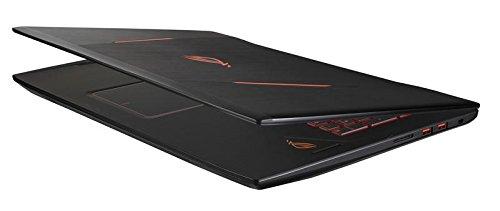 Asus ROG GL702VM GC279T 439 cm 173 Zoll mattes FHD Gaming Notebook Intel major i7 7700HQ 8GB RAM 256GB SSD 1TB HDD NVIDIA GeForce 1060 Win 10 family home schwarz Notebooks